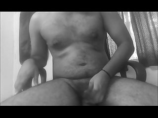 Indian guy masturbating