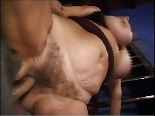 Hot mature woman with big boobs gets fucked by a young boy