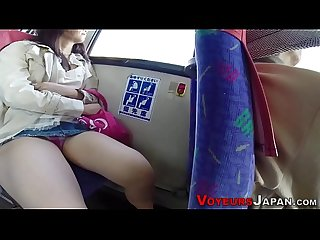Asian fingered in public