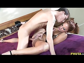 Fhuta gabriella banks screams from her ass getting fucked