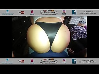 Big Booty Latina From Gym Comes & Fucks In Her Sexy Black Thong