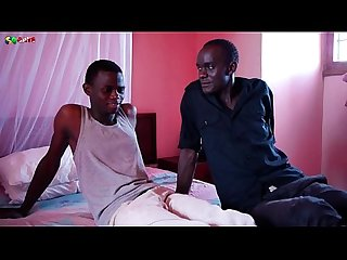 Black Twinks rony and pear on morning foreplay