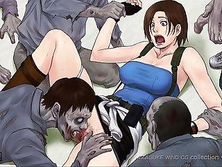 Monsters zombies fuck jill valentine resident evil