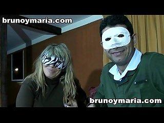 Yolanda y Fernando con Bruno y Maria pareja muy viciosa 100 amateur