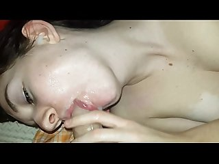 My best Girlfriend swallows she really loves it sperme