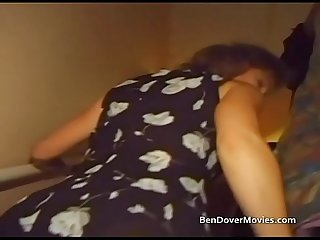 British icon Wendy Taylor gets dp'd by Ben Dover
