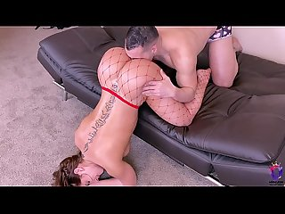 Thick ass wife gets rough fuck in the ass by husband
