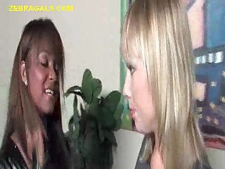Interracial bdsm chicks