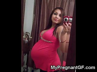 Hot Teen Pregnant GFs!