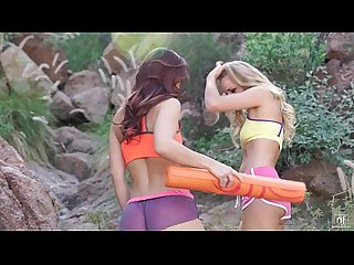 Nubilefilms lesbian babes cum together