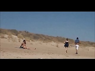Couple split by strangers and fucks her nude beach bestwomenonly period com sol w3y7 part2 watch her
