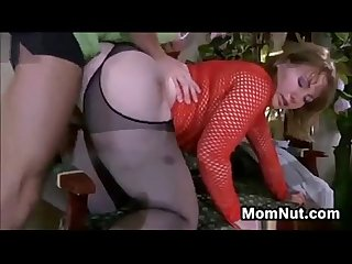 Young mature creampie period