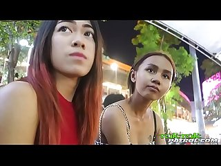 Super tiny 18yo thai hottie with bangkok bubble butt booty rides tuktuk ft song