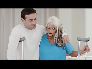 65yo Psychiotherapist Works On A Young Guy - Sally D'Angelo
