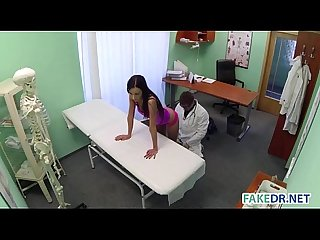 In depth examination in the fake hospital