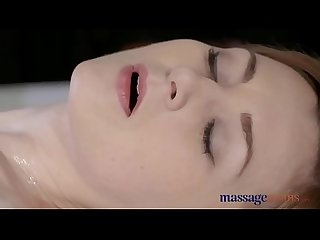 Massage Rooms Beautiful pale skinned Mom squirts for the very first time