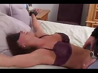 Christina carter bedspread and tickle tortured 1