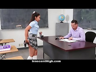 Innocenthigh schoolgirl offers to be teachers sextoy