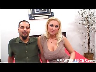 Watch a pornstar pound your wife hard