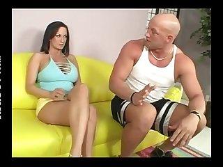 Son put his cum so big into his mom