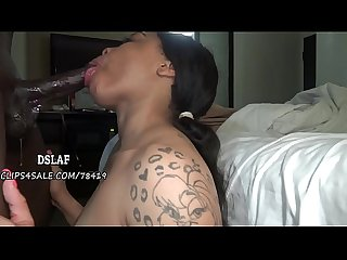 Pretty rebel chokes on cum after the best deepthroat ever dslaf