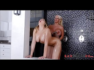 Hot MILF Mom And Teen Stepdaughter