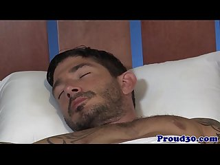 Mature gay hunk fucking tattooed boyfriend