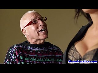 Busty lezdom ava koxxx teaches blonde manners