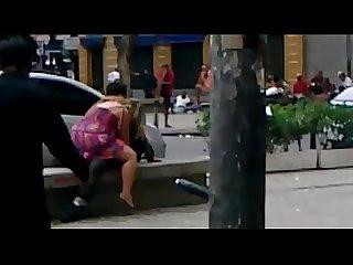 Casal faz Sexo em praa