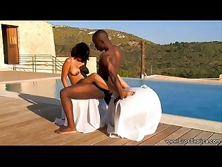 African Ebony People Fuck Outdoors