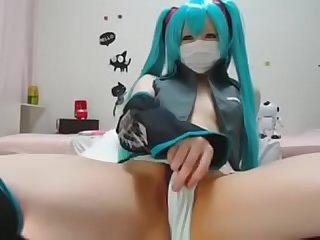 Sexy white cotton panties Asian cosplay pt 2 at vixenhub period com