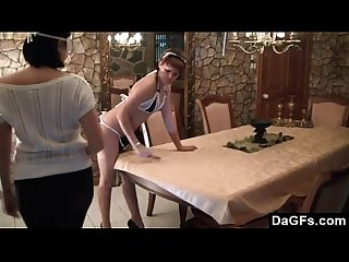 Submissive Maid Fucked By Her Boss