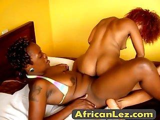 Hot African Lesbians jojo akua fuck in the bedroomfinal