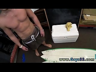Twink movie Blonde muscle surfer fellow needs cash