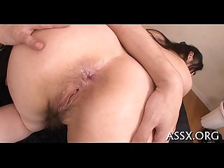 Raucous anal for breasty asian sweetheart