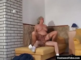 This has got to be sluttiest grandma that the world has ever seen