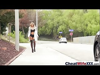 (kayla kayden) Sexy Wife In Cheating Hard Style Action Bang movie-12