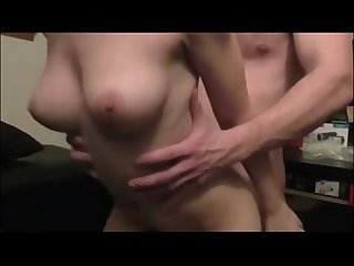 Teen couple sex and creampie