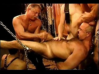 Five man sensual cbt bdsm orgy