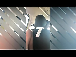MASTURBATING IN THE UBER - PUBLIC CAR MASTURBATION - NEXTDOORNURS3