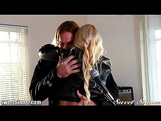 Sweetsinner hot blonde fucks mentor
