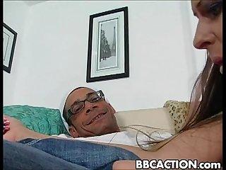 Rachel Roxxx vs HUGE cock