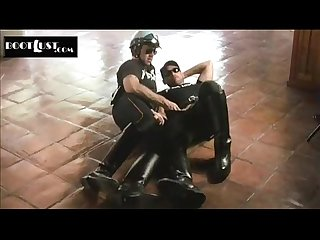 Cop cums on partners boots | Watch more videos - likefucker.com