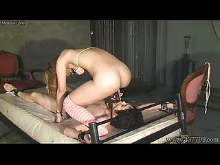 Mistress Land NOA Cunnilingus and Strapon