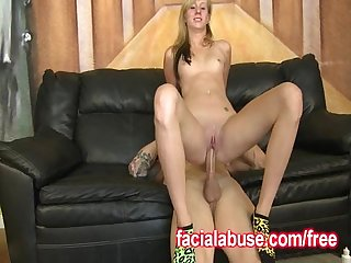 Humping her wet hole
