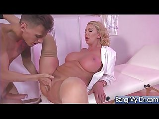 Appointment at doctor end with A bang for horny slut patient leigh darby Mov 27