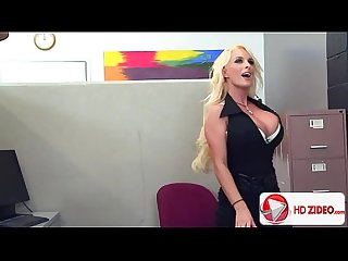 Holly Halston fucks better than she works HD Porn