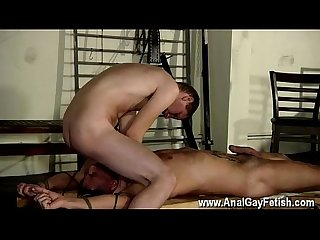 Black big booty gay vids Theo lays nude and restrained, his bod