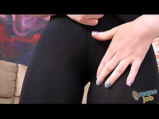 Petite Miley May Handjob