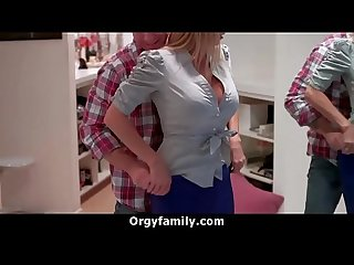 Step mom is very horny for her big dick son vert orgyfamily period com